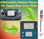 Ultimate Game Gear VC Injector for 3DS | NDS SceneBeta com