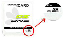 firmware supercard ds one sdhc